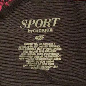 Cacique Intimates & Sleepwear - Cacique Underwire Sports Bra - Size 42F